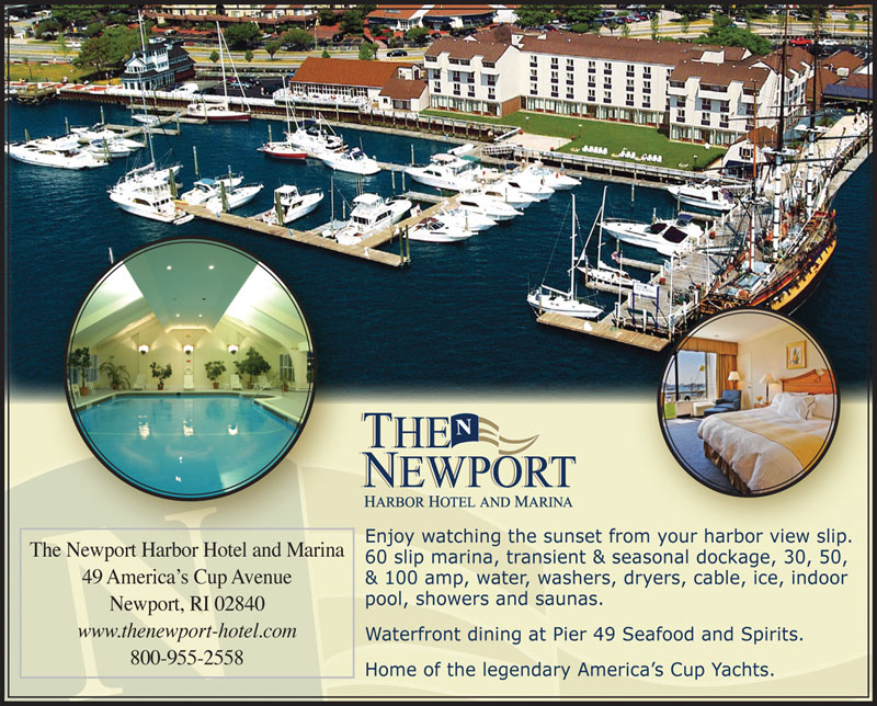 Newport Harbor Hotel & Marina Advertisement
