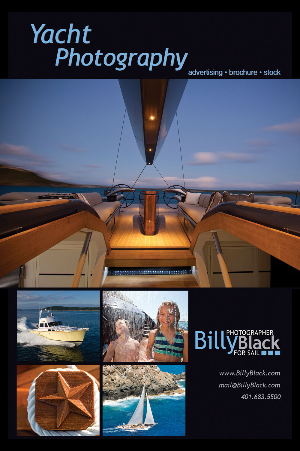 Billy Black Advertisement