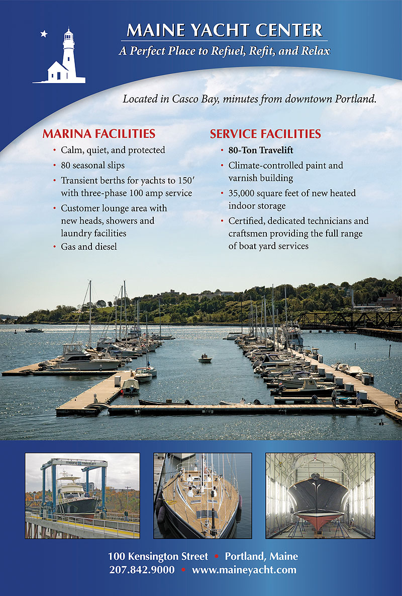 Maine Yacht Center Advertisement