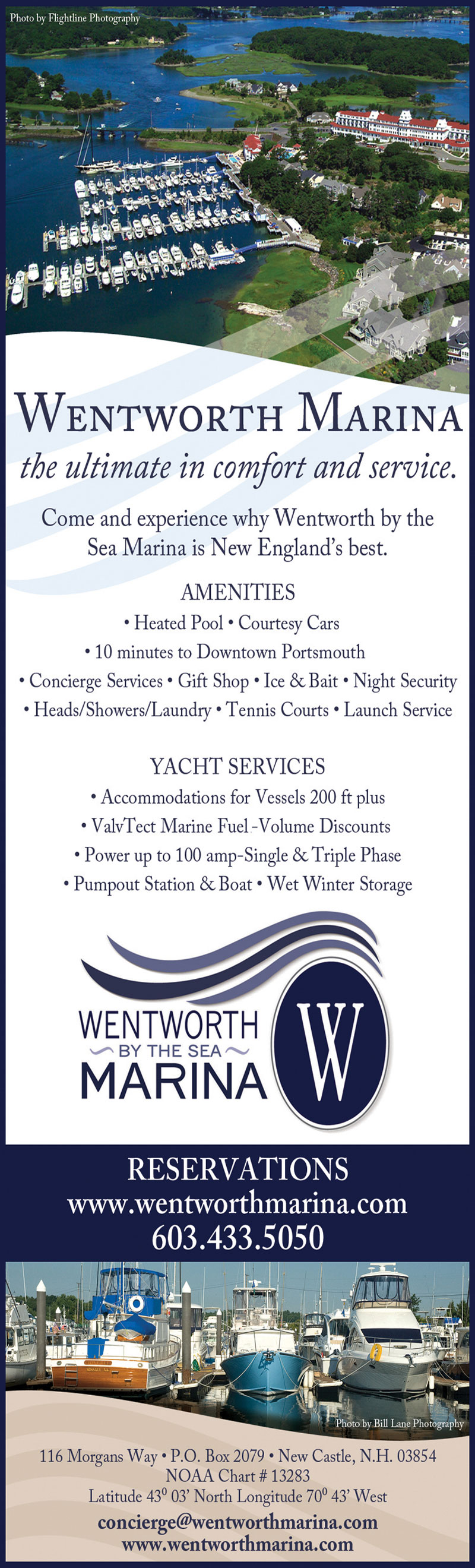Wentworth by the Sea Marina Advertisement